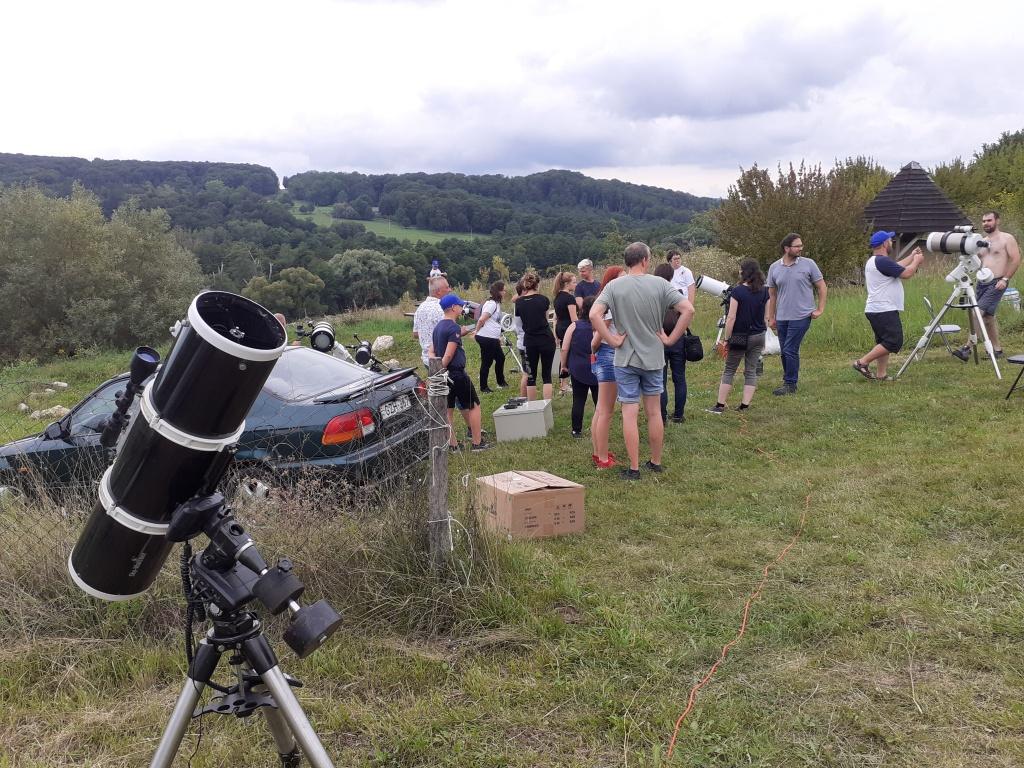 Bakonyi Csillagászati Egyesület csillagászati tábor