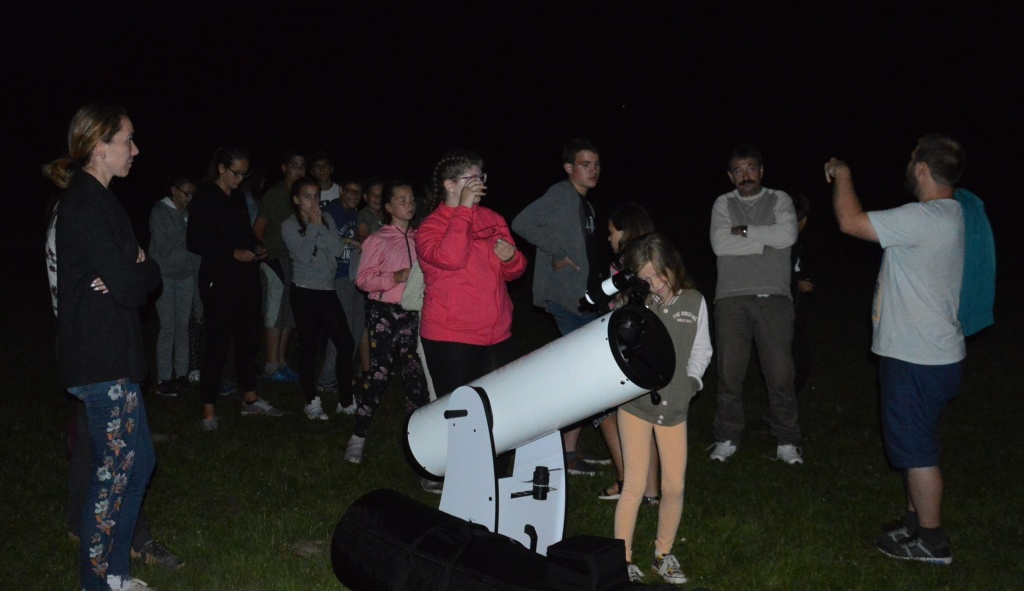 Bakonyi Csillagászati Egyesület távcsöves bemutatók