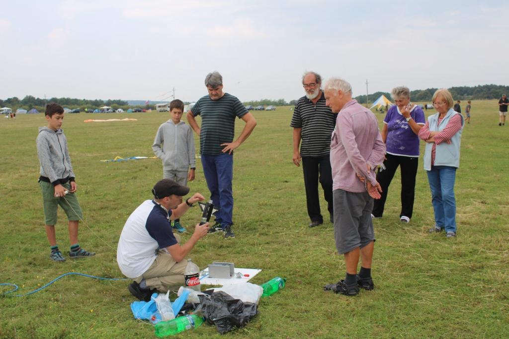 Bakonyi Csillagászati Egyesület vízrakéta